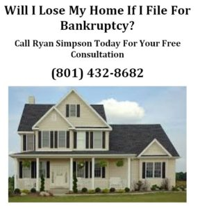 will i lose my home if i file for bankruptcy