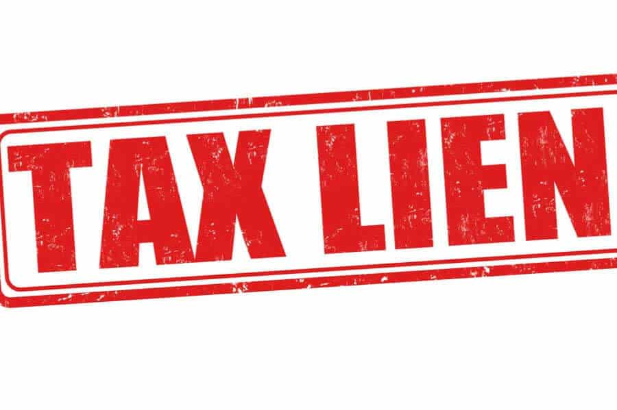 How are tax liens treated in bankruptcy