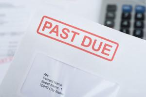Past Due Envelope